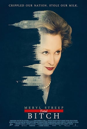 Mock movie posters: The Iron Lady