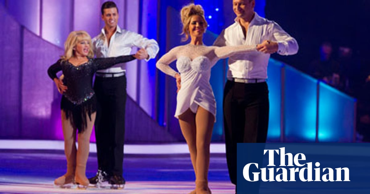 Dancing On Ice Grace Dent S Tv Od Dancing On Ice The Guardian