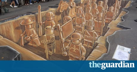 D Street Art A Question Of Perspective Art And Design The - Anamorphic art looks real