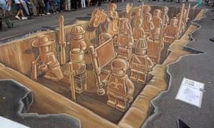 Leon Keer's terracotta Lego army