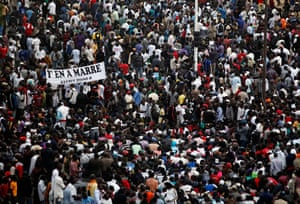 Protest in Senegal: Anti-government demonstrators take to the streets