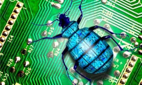 A 'computer bug'