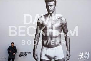 David Beckham fashion: David Beckham launches his new range of underwear for H & M