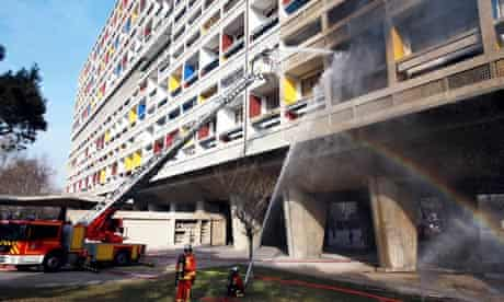 FRANCE-FIRE-CORBUSIER-HERITAGE