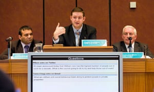 Oldham council question time
