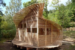 Small Projects : Coed Gwern Bird Hide