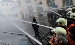 Belgian firefighters