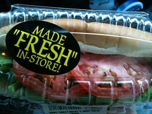 """Quotation marks: Made """"Fresh"""" in-store"""