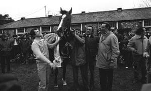 Bob Champion and josh gifford