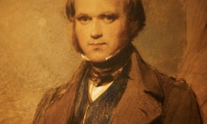Portrait of a young Charles Darwin