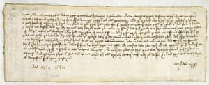 The 10 Best: Letter from Margaret Brews to John Paston III