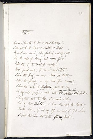 The 10 Best: Love letter by Elizabeth Barrett Browning from Sonnets from the Portuguese
