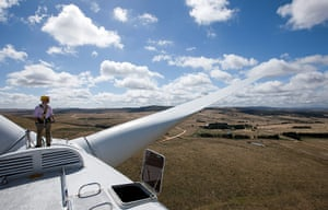 Wind Energy: Operations At Capital Wind Farm