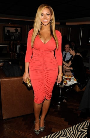 Beyonce Jay-Z Baby: Beyonce attends the after party following Jay-Z's concert at Carnegie Hall