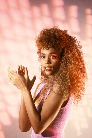 "Whitney Houston obit: 1987: Whitney Houston in 'I Wanna Dance with Somebody"" video"