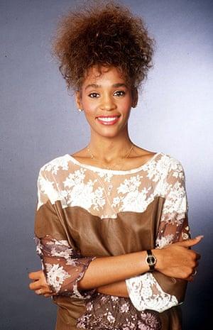Whitney Houston obit: 1985: A young Whitney Houston