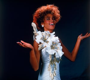 Whitney Houston obit: Singer Whitney Houston performing