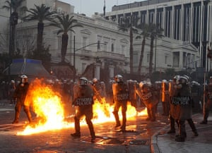 Greece austerity protests: Greece austerity protests