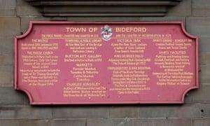 Bideford council sign