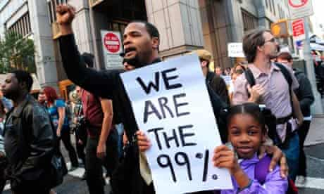 Occupy Wall Street Protests, New York, America - 05 Oct 2011