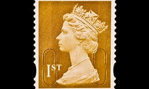 First class postage stamp