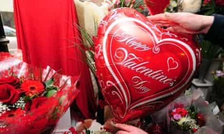 Valentine's day preparations