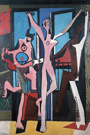 Picasso & Modern Brit Art: The Three Dancers 1925 by Pablo Picasso