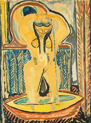 Picasso & Modern Brit Art: The Tub circa 1913 by Duncan Grant