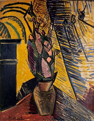 Picasso & Modern Brit Art: Vase of Flowers, 1908 by Pablo Picasso
