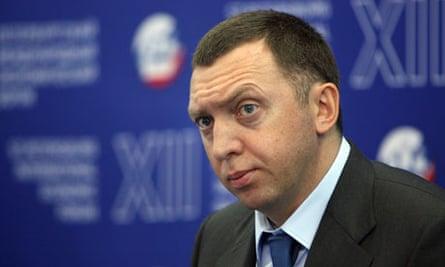 Oleg Deripaska, the Russian oligarch