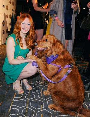 Golden Collar awards: Actress Emerson and her dog Ginger