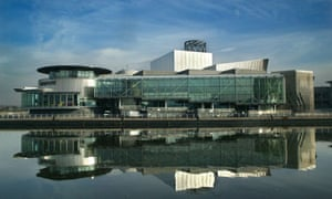 The Lowry arts centre, Salford