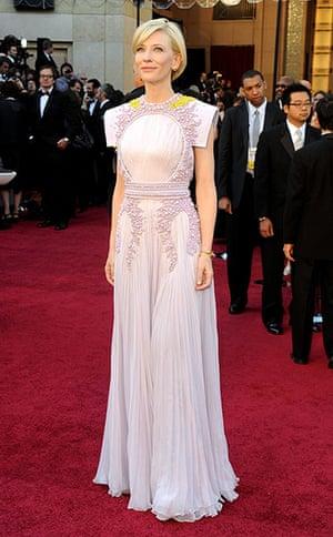 Oscars Do: Cate Blanchett in 2011
