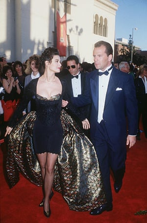 Oscars Don't: Demi Moore And Bruce Willis in 1989