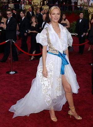 Oscars Don't: Uma Thurman in 2004