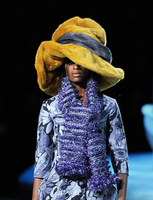 Marc Jacobs: This was a show of unforgettable hats