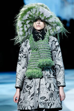 Marc Jacobs: Embellishment saved the skirts from a dowdy fate