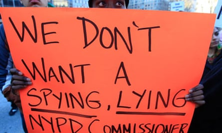 Protest against NYPD's Ray Kelly