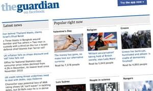 Guardian Facebook app: FAQ | Info | The Guardian