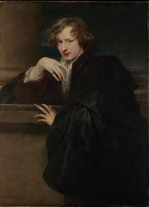 Van Dyck: Sir Anthony van Dyck, Self-Portrait