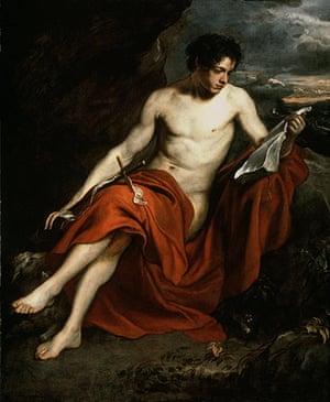 Van Dyck: Saint John the Baptist in the Wilderness