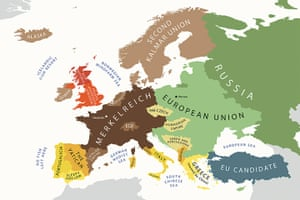 Stereotype maps: Stereotype maps: Crystal ball view of Europe in 2022
