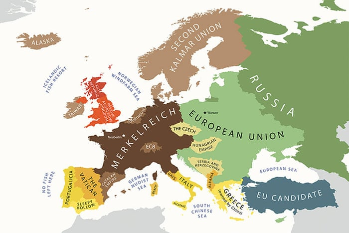 Yanko Tsvetkov S Stereotype Maps In Pictures Art And Design