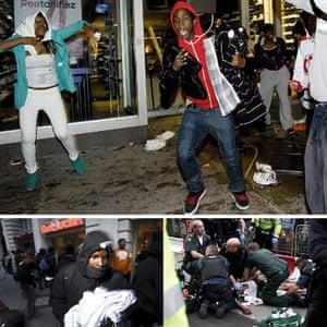 Foot Locker: violence composite