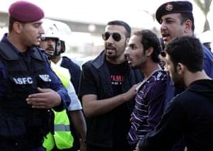 Bahrain: Police arrest a suspected protestor
