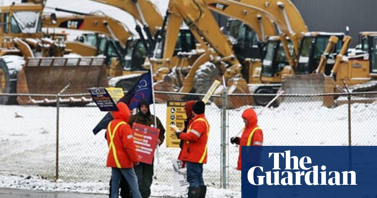Caterpillar Feels Force Of Canada S Anger As It Closes Country S Last Train Plant Manufacturing Sector The Guardian