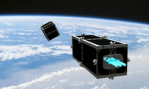 CleanSpace One satelite