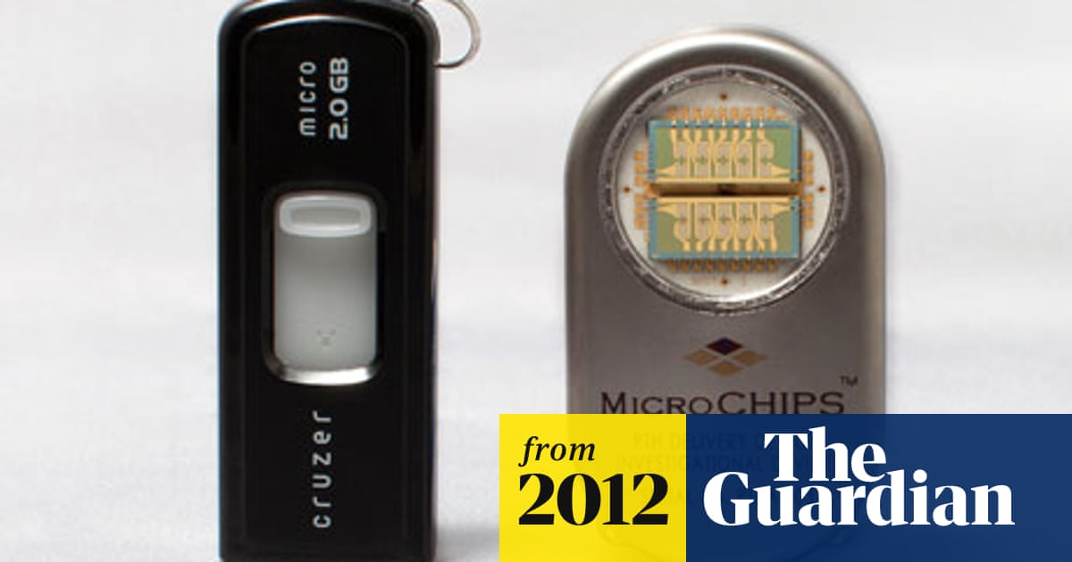 Microchip implant delivers timed drug doses to patients with