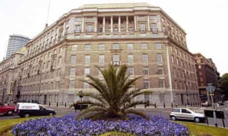 The London headquarters of MI5