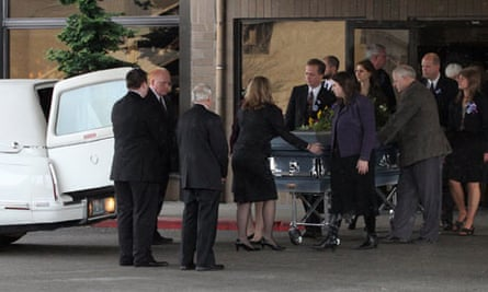 Josh Powell sons funeral